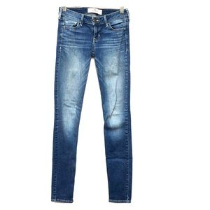Hollister Medium Blue Jeans 1L W25 L33